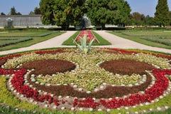 Garden of Castle Lednice,UNESCO heritage site Royalty Free Stock Photos