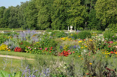 The garden of the castle of Rambouillet Royalty Free Stock Image