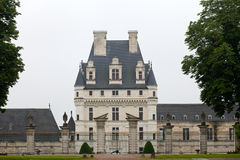 Garden and Castle of Valencay in Loire Valley Royalty Free Stock Images
