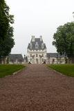 Garden and Castle of Valencay in Loire Valley Stock Image
