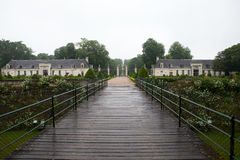 Garden and Castle of Valencay in Loire Valley stock photography