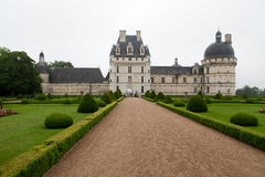 Garden and Castle of Valencay Royalty Free Stock Image