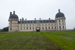 Garden and Castle of Valencay Royalty Free Stock Photography
