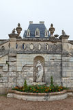 Garden and Castle of Valencay Stock Images