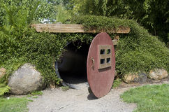 Garden cave for kids Royalty Free Stock Image
