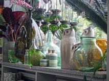 Garden Center, deposito del giardino, parte della mostra fotografia stock libera da diritti