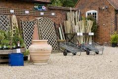 Garden centre. Suffolk, East of England Royalty Free Stock Photo