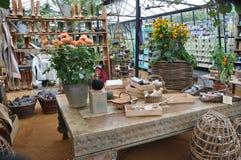 Garden centre in london England Stock Photo
