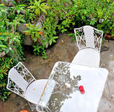 Garden chair Royalty Free Stock Photography