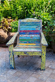 Garden Chair Royalty Free Stock Photos