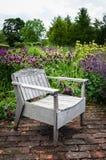 Garden Chair - Garden Seat - English Garden Royalty Free Stock Photo