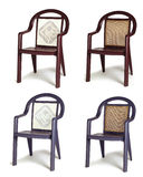 Garden chairs Stock Photo