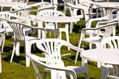 Garden chairs Royalty Free Stock Photos