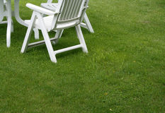 Garden chairs Royalty Free Stock Photography