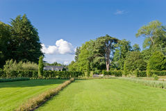 Garden of chateau Cheverny Royalty Free Stock Photography
