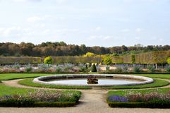 Garden of Chateau de Versailles Royalty Free Stock Photo