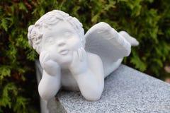 Garden Cherub Stock Photo