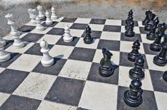 Garden chess Stock Photo