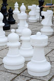 Garden chess Stock Image