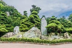 Garden Chi Lin Nunnery Kowloon Hong Kong. Garden Chi Lin Nunnery Kowloon in Hong Kong Stock Images