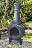Garden Chiminea Stock Photography