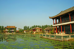 Garden of chinese Royalty Free Stock Photos