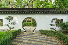 Garden in chinese style Royalty Free Stock Image