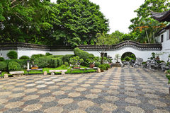 Garden in chinese style Stock Photo