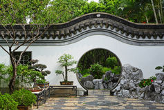 Garden in chinese style Royalty Free Stock Photos