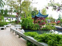 Garden of Chinese style Royalty Free Stock Image