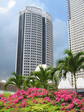 Garden City. Singapore, a country famous for her clean and green Stock Image