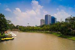 Garden in the city Bangkok Thailand Stock Photography
