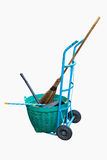 Garden cleaning tools Royalty Free Stock Image