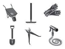 Garden Cleaning Tools Stock Photography