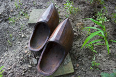 Garden clogs Royalty Free Stock Photography