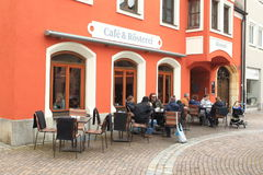 Coffeehouse Amberg Royalty Free Stock Photography