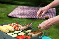 Garden cooking Stock Photo