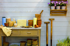 Garden corner Royalty Free Stock Photo
