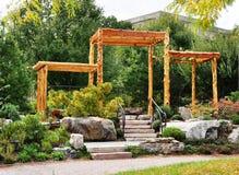Garden corner. Royalty Free Stock Photo