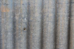 Garden Corrugated iron Stock Photo