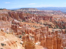 Garden of crags in Bryce Canyon Stock Image