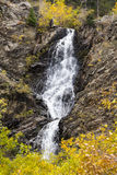 Garden Creek Falls, Wyoming, During the Fall Stock Images