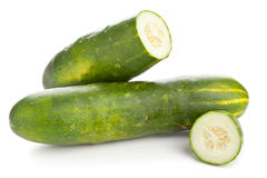 Garden cucumbers Royalty Free Stock Photos