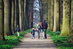 Garden of de Haar Castle, Netherlands Stock Photography