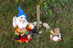 Garden Decorations Royalty Free Stock Photography