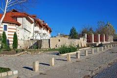 Garden of dervent orthodox monastery Stock Images