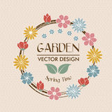 Garden design Royalty Free Stock Images