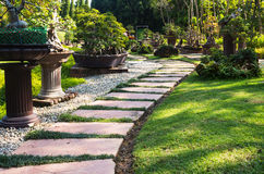 Garden design. Royalty Free Stock Image