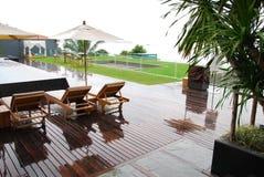 Garden design in thailand Stock Image