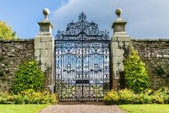 Garden door Royalty Free Stock Images